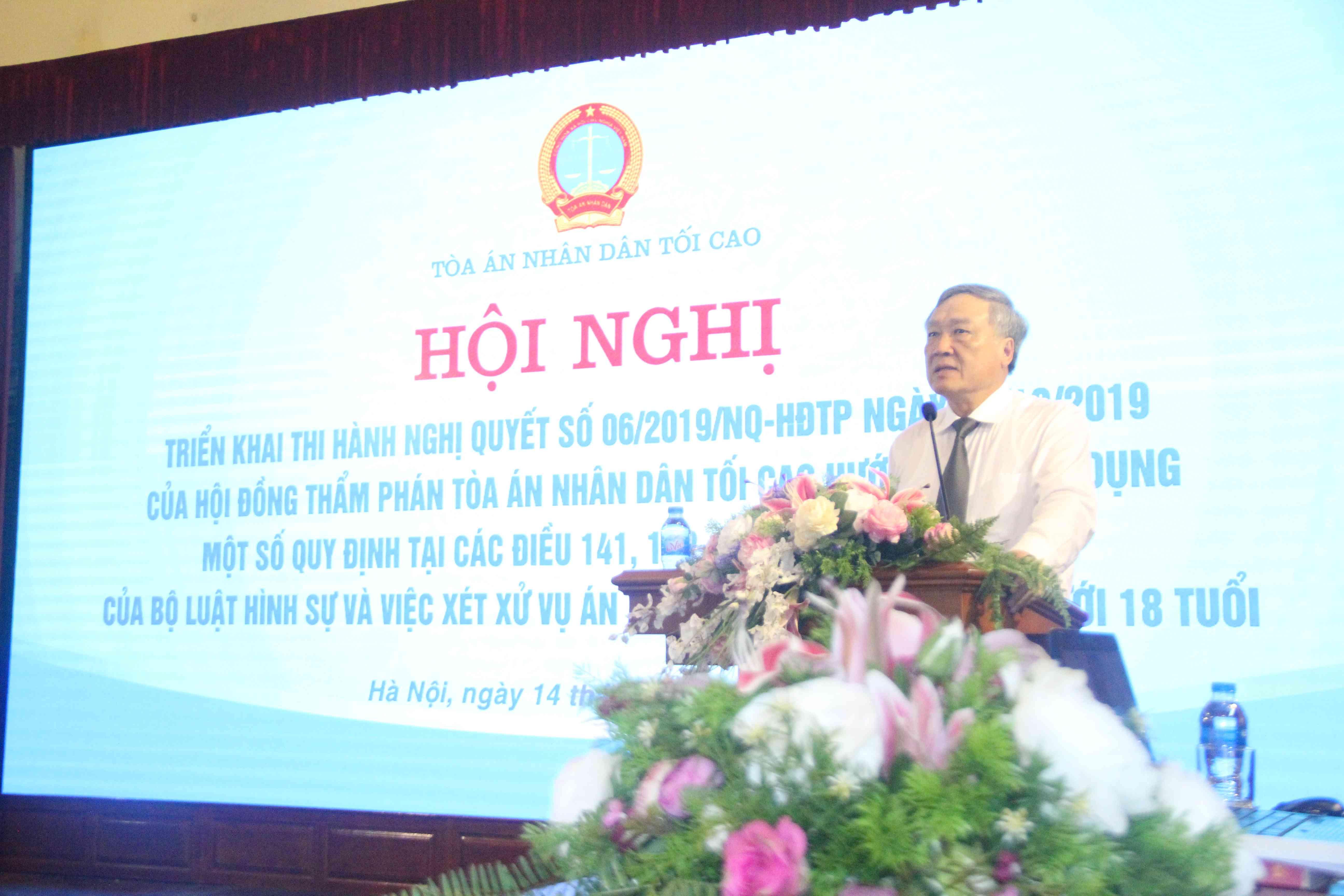 Từ ngày 5/11, những quy định rất nhân văn trong Nghị quyết 06/NQ-HĐTP bắt đầu được thực hiện