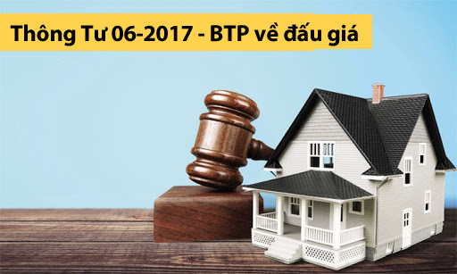 Thông Tư 06-2017 - BTP về đấu giá