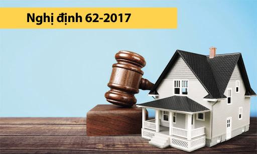 Nghị đĩnh 62-2017 Quy định chi tiết một số điều và biện pháp thi hành luật đấu giá tài sản