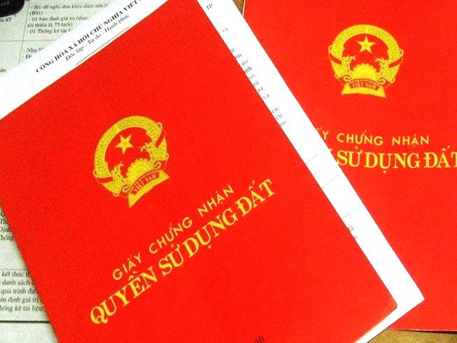 Giấy tờ về quyền sử dụng đất ghi tên người khác vẫn được cấp Sổ đỏ