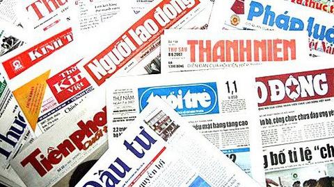 Phạt đến 100 triệu đồng nếu báo chí đưa thông tin sai sự thật