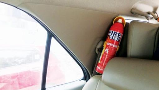 Ô tô từ 09 chỗ trở xuống không phải bố trí phương tiện chữa cháy