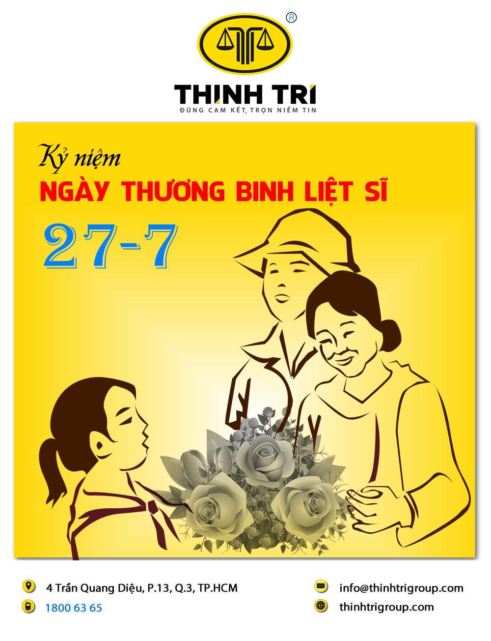HỆ THỐNG LUẬT THỊNH TRÍ KỶ NIỆM NGÀY THƯƠNG BINH LIỆT SĨ 27/07/2021