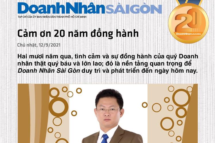 Hệ thống Luật Thịnh Trí 20 năm đồng hành cùng Báo Doanh Nhân Sài Gòn