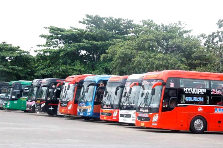 Từ ngày 13/10, mở lại vận tải khách đường bộ liên tỉnh