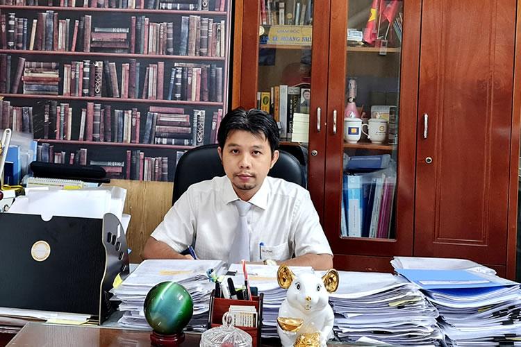 Quản tài viên Lê Hoàng Nhí (TP. Cần Thơ) - Ảnh: VGP/Lê Sơn